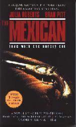 The Mexican paperback book [Brad Pitt/Julia Roberts pics] Movie Tie-In