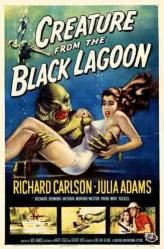 Creature From the Black Lagoon movie poster [Julia Adams] 11'' X 17''