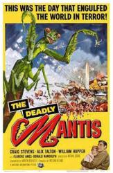 The Deadly Mantis movie poster (11'' X 17'')