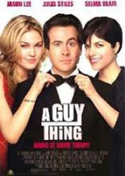 A Guy Thing movie poster [Jason Lee, Julia Stiles, Selma Blair] video