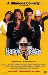 Happy, Texas poster [Steve Zahn, Jeremy Northam & William H. Macy] NM