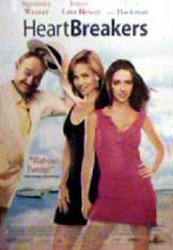 Heartbreakers movie poster [Sigourney Weaver, Love Hewitt, Hackman] NM