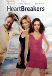 Heartbreakers movie poster [Sigourney Weaver, Love Hewitt, Hackman] VG