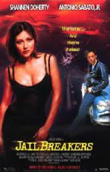 Jailbreakers movie poster [Shannen Doherty, Antonio Sabato, Jr.] 26x40