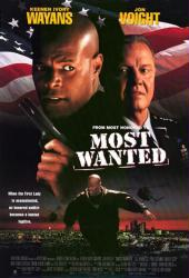 Most Wanted movie poster [Keenan Ivory Wayans & Jon Voight] video/NM