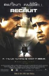 The Recruit movie poster [Al Pacino & Colin Farrell] video poster/VG