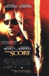 The Score movie poster [Robert DeNiro & Edward Norton] video version