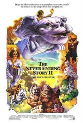 The Neverending Story II: The Next Chapter movie poster (video poster)