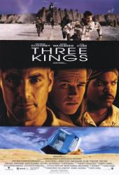 Three Kings movie poster [George Clooney, Mark Wahlberg & Ice Cube]