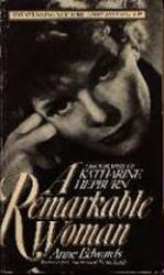 Katharine Hepburn biography: A Remarkable Woman (Paperback Book/1986)