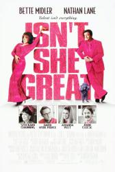 Isn't She Great movie poster [Bette Midler, Nathan Lane] 27x40