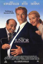 Junior movie poster [Schwarzenegger, DeVito, Emma Thompson] 27x40