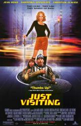 Just Visiting movie poster [Jean Reno, Christina Applegate] 26x40