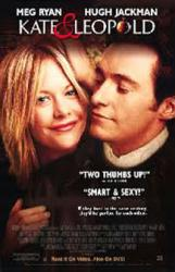 Kate & Leopold movie poster [Meg Ryan, Hugh Jackman] 26x40