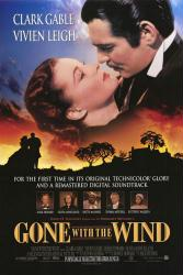 Gone With the Wind movie poster [Clark Gable, Vivien Leigh] 27x40