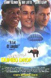 Operation Dumbo Drop movie poster /Ray Liotta/Danny Glover/Denis Leary
