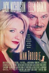 Man Trouble movie poster [Jack Nicholson, Ellen Barkin] 26x40 video