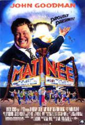 Matinee movie poster [John Goodman] 27x40 video version