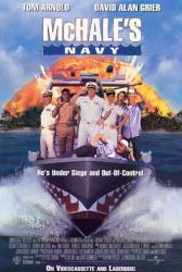 McHale's Navy movie poster [Tom Arnold, David Alan Grier] 27x40 video
