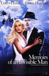 Memoirs of an Invisible Man movie poster [Chevy Chase, Daryl Hannah]