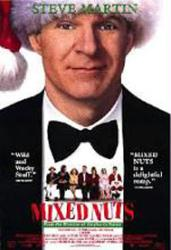 Mixed Nuts movie poster [Steve Martin, Adam Sandler & Rita Wilson]
