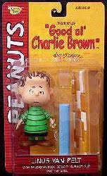 Peanuts Good Ol' Charlie Brown: Linus Van Pelt figure [green/sm frown]