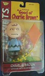 Peanuts Good Ol' Charlie Brown: Charlie Brown figure [blue/lg frown]