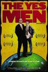 The Yes Men movie poster (27x40 original) VG condition