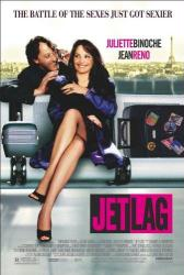 Jet Lag movie poster [Juliette Binoche, Jean Reno] 27x40 original