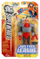 Justice League Unlimited: Rocket Red action figure (Mattel/2006)