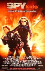 Spy Kids movie poster [Alexa Vega & Daryl Sabara] video poster/NM