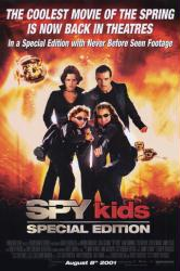Spy Kids: Special Edition movie poster [Antonio Banderas/Carla Gugino]