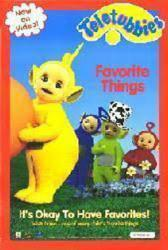 Teletubbies: Favorite Things (Video Poster) VG