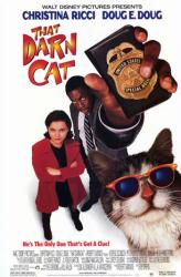 That Darn Cat movie poster [Christina Ricci, Doug E. Doug] 26x40