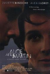 Alice and Martin movie poster [Juliette Binoche] 27x40 original