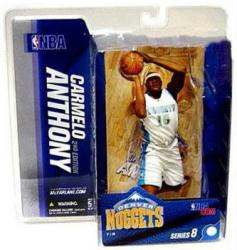 NBA Series 8 [2nd Edition] Carmelo Anthony figure (McFarlane/2005)