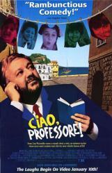 Ciao, Professore! movie poster (1992) 26x40 video version