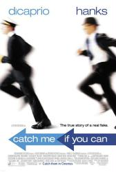 Catch Me If You Can movie poster [Tom Hanks & Leonardo DiCaprio] NM