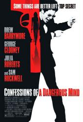 Confessions of a Dangerous Mind movie poster [Sam Rockwell] 27x40
