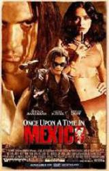 Once Upon A Time In Mexico movie poster [Banderas, Hayek, Depp] 27x40