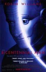Bicentennial Man movie poster [Robin Williams] 26x40 video version GD