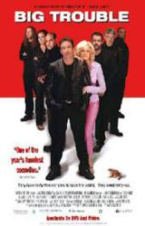 Big Trouble movie poster [Tim Allen, Omar Epps] 26x40 video version