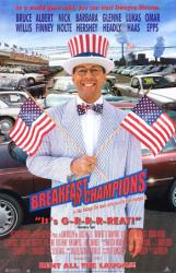 Breakfast of Champions movie poster [Bruce Willis] 26x40 video version