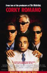 Corky Romano movie poster [Chris Kattan, Peter Falk] 27x40 video NM