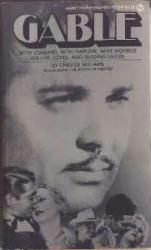Clark Gable biography: Gable by Chester Williams (Paperback book/1975)