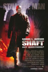 Shaft movie poster (2000) Samuel L. Jackson