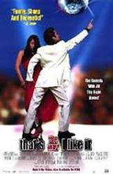 That's the Way I Like It movie poster (1998) 26x40