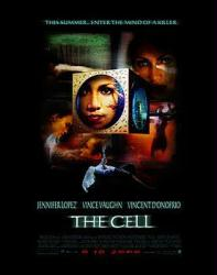 The Cell movie poster [Jennifer Lopez] original 27x40 one-sheet