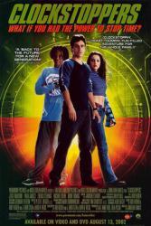Clockstoppers movie poster [Jesse Bradford, Paula Garces] video poster