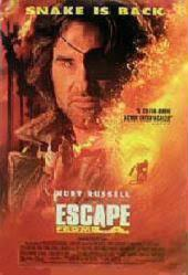 Escape From L.A. movie poster [Kurt Russell] 27x40 video poster